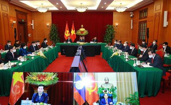 Tăng cường chia sẻ kinh nghiệm công tác xây dựng Đảng Việt Nam - Lào