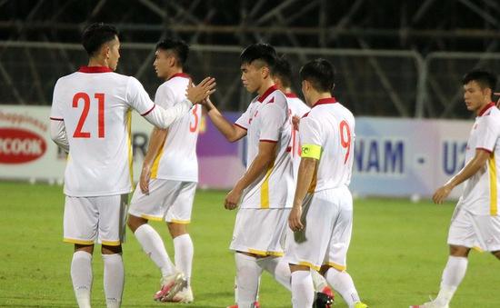Điều chỉnh giờ thi đấu vòng loại bảng I Giải bóng đá vô địch U23 châu Á 2022