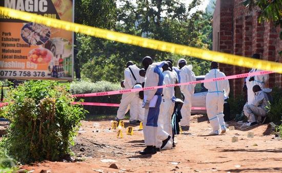 Nổ bom khiến ít nhất một người tử vong tại nhà hàng ở thủ đô Ugandan