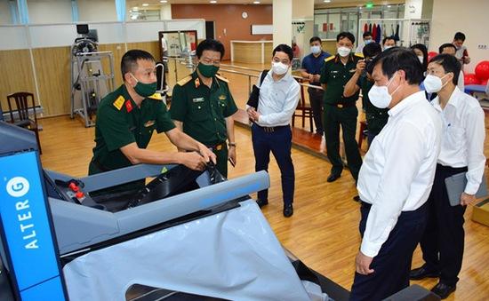 Bộ Y tế kiểm tra phòng chống dịch tại Bệnh viện Quân y 175