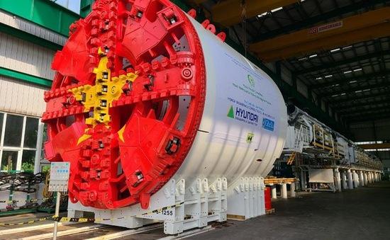 Hoàn thành chạy thử robot đào hầm đầu tiên của tuyến Nhổn - ga Hà Nội
