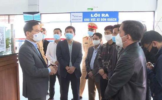 Quảng Ninh: Bố trí xe đưa đón người lao động trở lại làm việc sau Tết