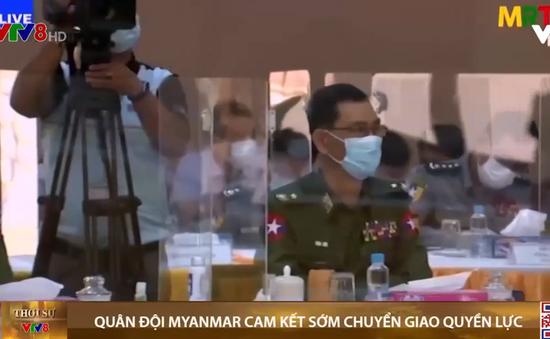 Quân đội Myanmar cam kết chuyển giao quyền lực
