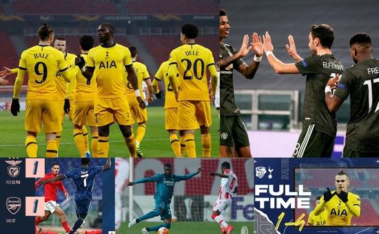 Kết quả Europa League hôm nay: Man Utd, Tottenham thắng đậm, Arsenal, Leicester bị cầm hoà