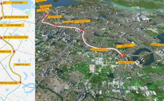 Đề xuất miễn phí lập quy hoạch hầm ngầm chống ngập kết hợp với cao tốc ngầm dọc sông Tô Lịch
