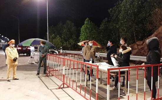 Phong tỏa tạm thời 7 xã, thị trấn thuộc huyện Vân Đồn