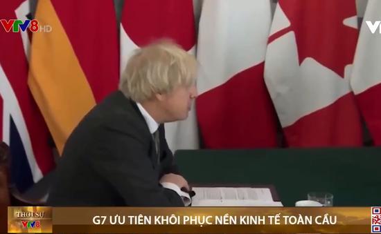 G7 họp trực tuyến, thảo luận về ưu tiên khôi phục và tái thiết kinh tế toàn cầu