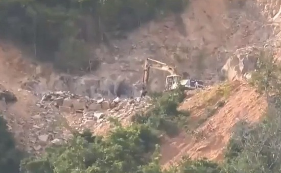 Khánh Hòa: Dân bức xúc vì một số đối tượng lén đào núi dịp Tết