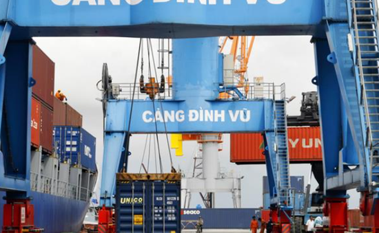 Hàng hóa qua cảng biển tăng trưởng tốt trong tháng đầu năm