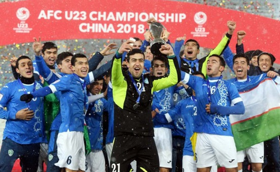 Uzbekistan chính thức đăng cai Vòng chung kết U23 châu Á 2022
