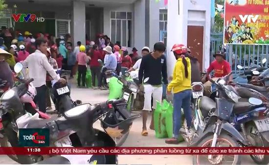 Hỗ trợ người dân vùng thiên tai đón Tết