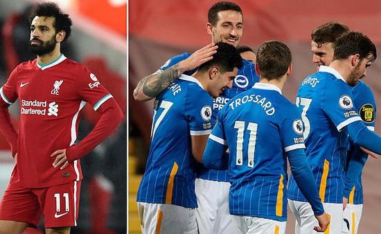 Liverpool 0-1 Brighton: Cú sốc trên sân Anfield