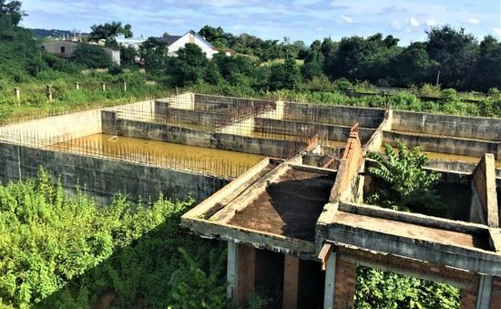 Dự án nước thải được đầu tư hơn 37 tỷ... rồi bỏ hoang