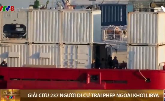 Giải cứu người di cư trái phép ngoài khơi Libya