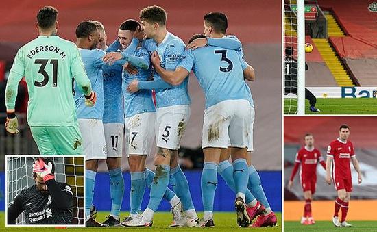 Liverpool 1-4 Man City: Chiến thắng thuyết phục