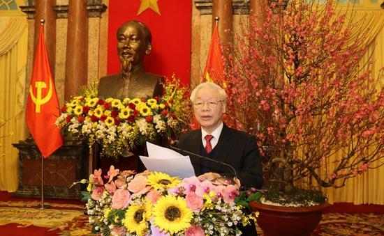 Tổng Bí thư, Chủ tịch nước Nguyễn Phú Trọng: Phát huy tinh thần yêu nước, bản lĩnh và trí tuệ Việt Nam