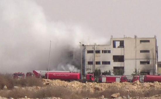 Cháy nhà máy dệt may ở Ai Cập, ít nhất 20 người thiệt mạng