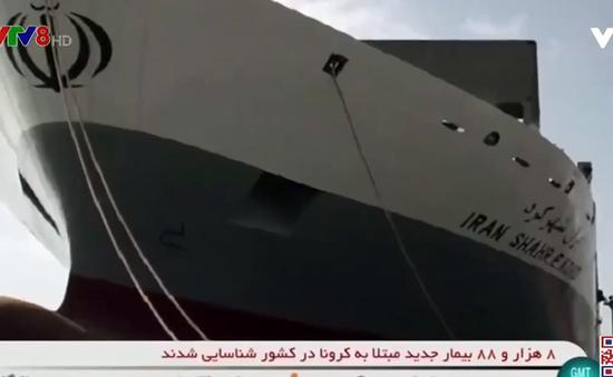 Tàu hàng của Iran bị tấn công ở Địa Trung Hải