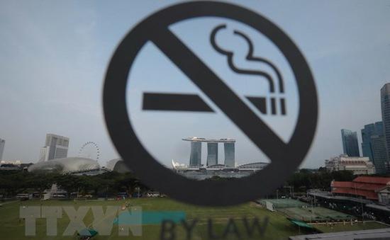 Singapore xem xét mở rộng khu vực cấm hút thuốc