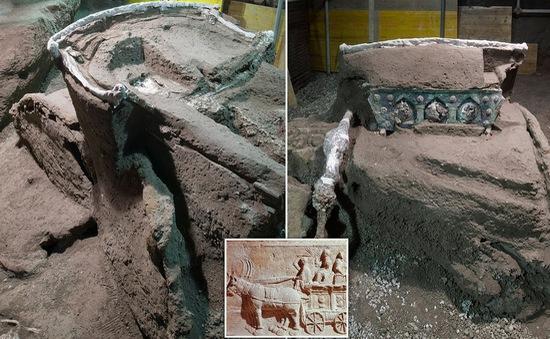 Tìm thấy chiến xa La Mã cổ đại toàn vẹn chưa từng có