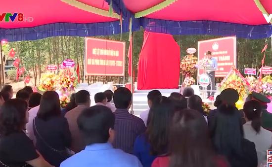 Gia Lai: Khánh thành Bia di tích lịch sử Mặt trận Dân tộc giải phóng