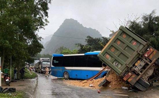 Xe khách đâm xe tải ở Hòa Bình không có dữ liệu giám sát hành trình