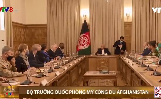 Bộ trưởng Quốc phòng Mỹ công du Afghanistan