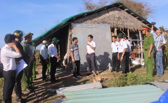 Cưỡng chế thu hồi đất trả lại mặt bằng thực hiện dự án điện gió