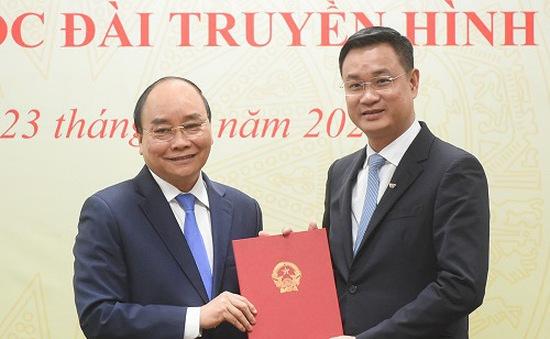 Thủ tướng Nguyễn Xuân Phúc trao quyết định bổ nhiệm Tổng Giám đốc Đài Truyền hình Việt Nam