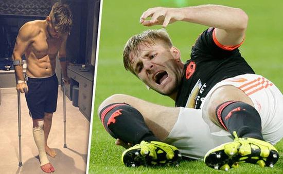 Luke Shaw đã vượt qua chấn thương gãy xương như thế nào?