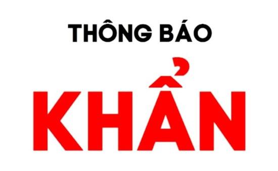 Hải Phòng phát thông báo khẩn tìm người liên quan đến Bệnh viện Phổi Hà Nội