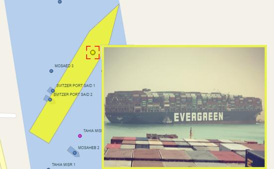 """Kênh đào Suez tắc nghẽn, thiệt hại đã có thể """"đong đếm"""""""