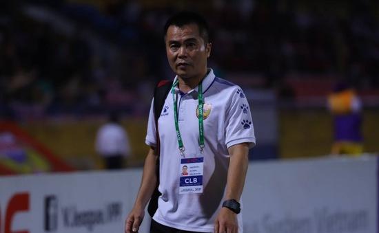 HLV Phạm Minh Đức: Tôi buồn vì các cầu thủ của tôi không dám chơi bóng