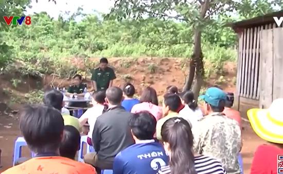 Kon Tum: Phổ biến giáo dục pháp luật cho cán bộ nhân dân vùng biên giới