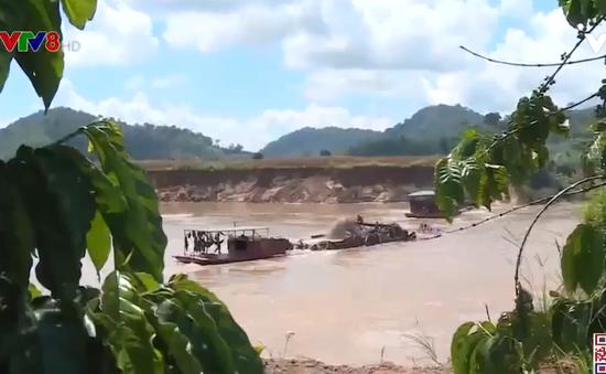 Đắk Lắk: Tăng cường quản lý hoạt động khai thác cát