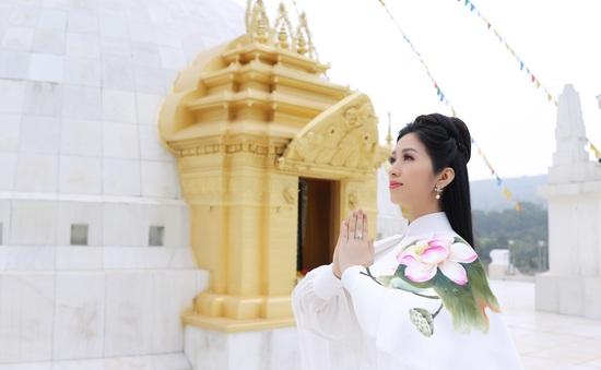 """MV nhạc Phật của Phương Nga Sao Mai """"chạm tim"""" khán giả"""