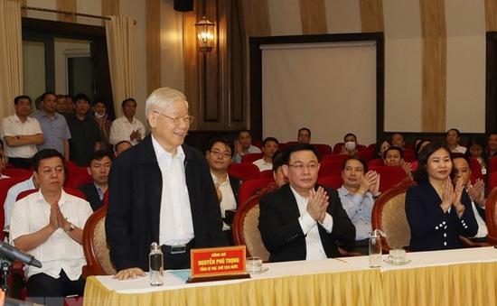 Cử tri nơi cư trú nhất trí giới thiệu ông Nguyễn Phú Trọng ứng cử ĐBQH khóa XV