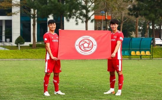 ĐKVĐ V.League CLB Viettel công bố logo mới của đội bóng