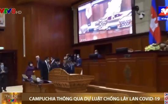Campuchia thông qua dự luật chống lây lan COVID-19