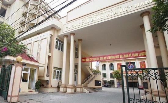 """Học viện Múa Việt Nam """"quên"""" không đăng ký đào tạo trung cấp"""
