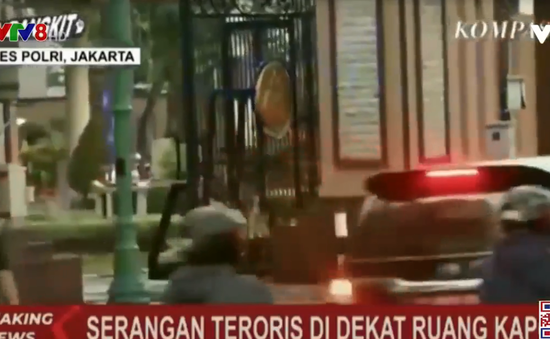 Indonesia: Đấu súng ở trụ sở cảnh sát quốc gia