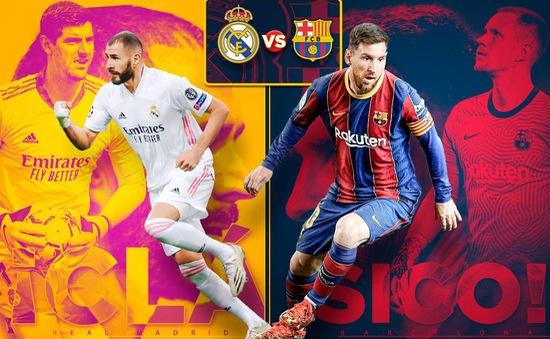 Real Madrid vs Barcelona: Siêu kinh điển chờ kỷ lục của Messi (02h ngày 11/4)