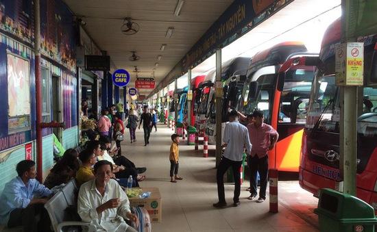 Giá vé xe khách tại TP Hồ Chí Minh tăng dịp lễ 30/4