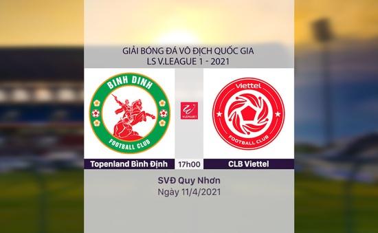 VIDEO Highlights: Topenland Bình Định 0-1 CLB Viettel (Vòng 9 LS V.League 1-2021)