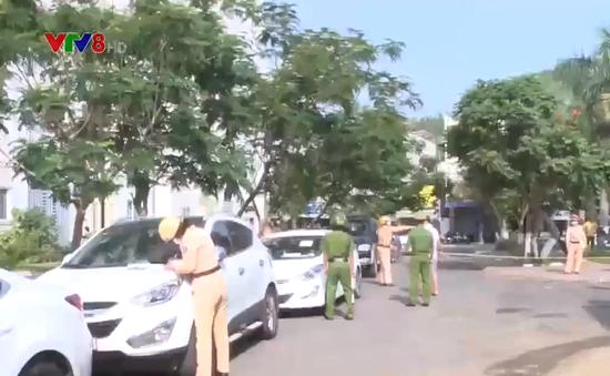 Bình Định: Tăng cường xử lý xe ô tô dừng, đỗ sai quy định