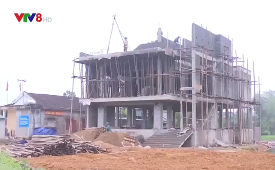 Hà Tĩnh: Xây dựng nhà tránh lũ cho người dân