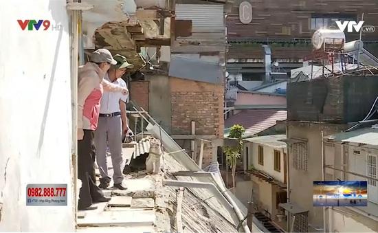 Nhiều nhà cao tầng có nguy cơ đổ sập, Tp. Đà Lạt phải khắc phục khẩn cấp