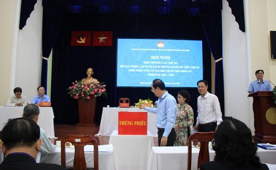 TP Hồ Chí Minh lập danh sách 38 người ứng cử đại biểu Quốc hội