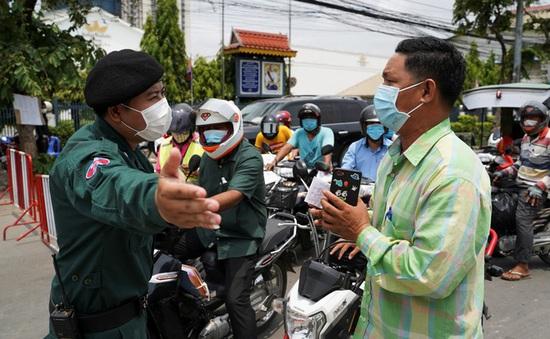 Thêm 291 ca mắc mới, Campuchia cảnh báo phạt tù người vi phạm lệnh phong tỏa