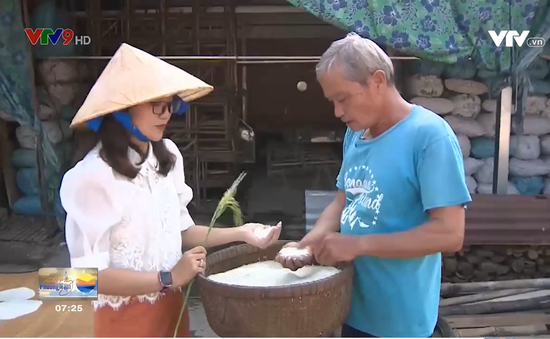 Sức sống làng nghề bánh phồng Phú Mỹ